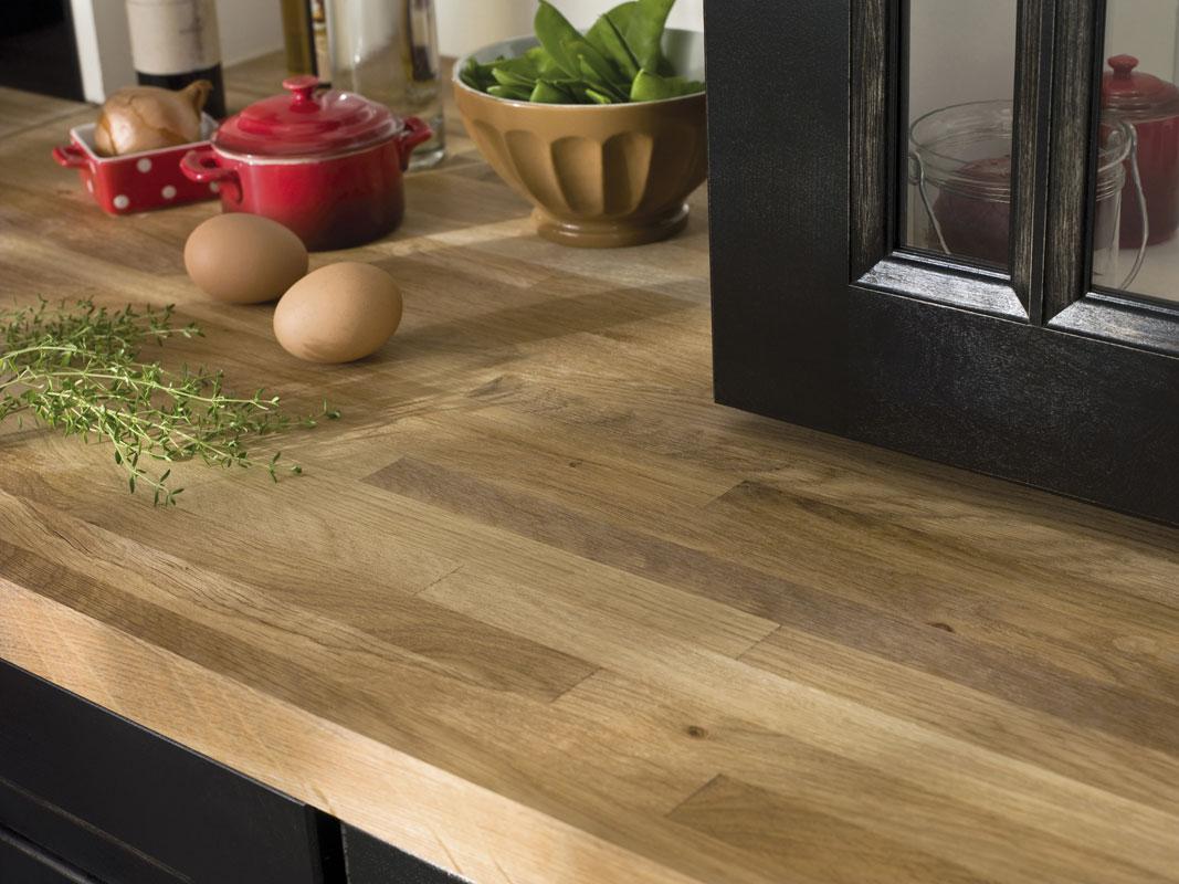 Colle Pour Plan De Travail Cuisine plan de travail en bois : lequel choisir ?